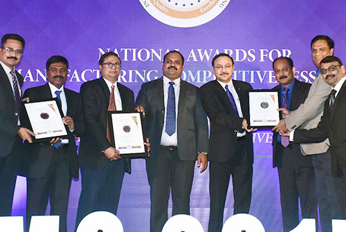 National Award for Manufacturing...