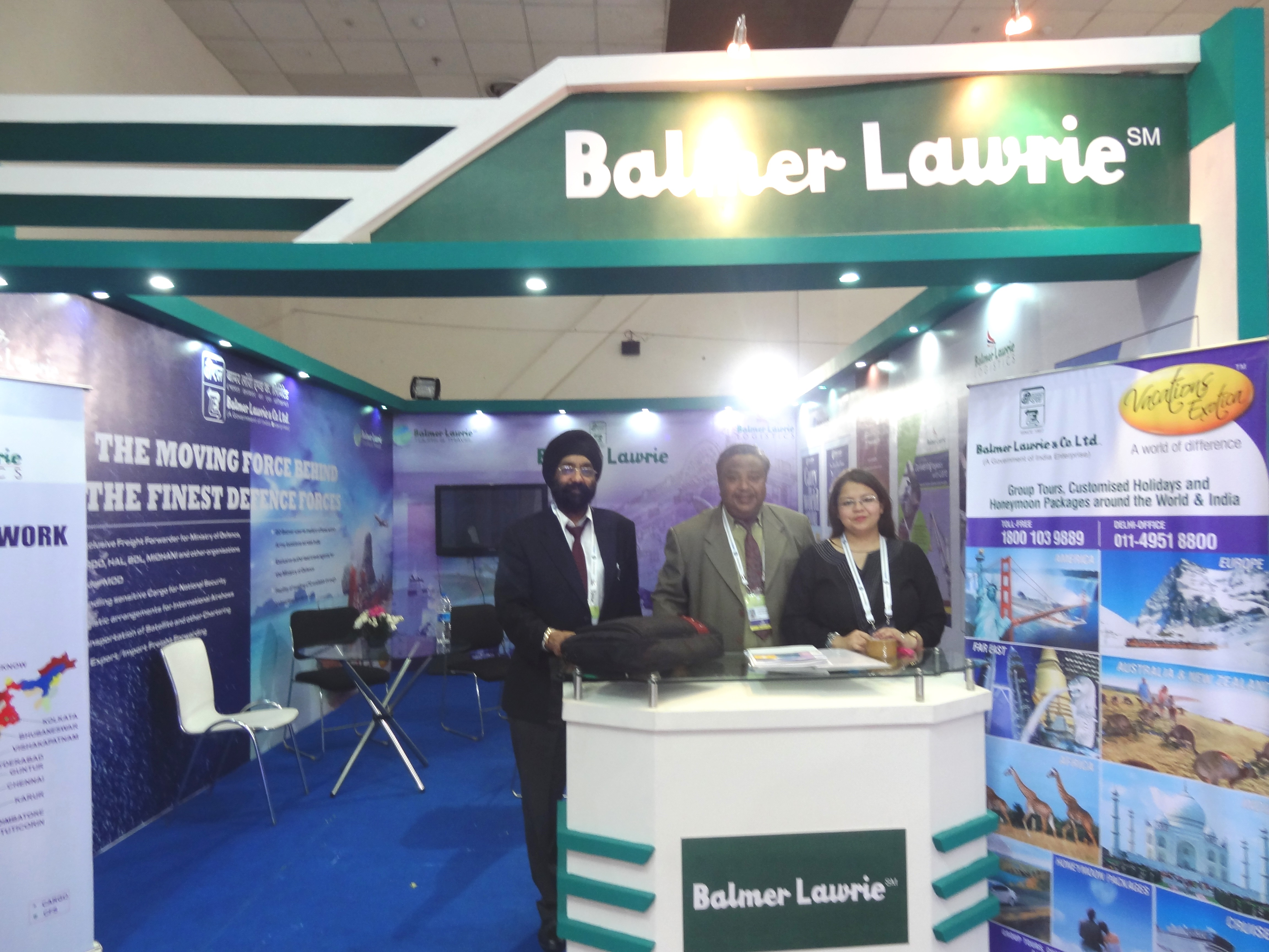 Balmer Lawrie participates in Defence Expo