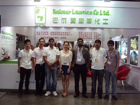 BL at All China Leather Exhibition