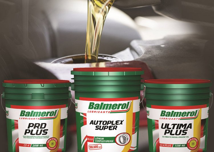 Packaging of Balmerol lubricants