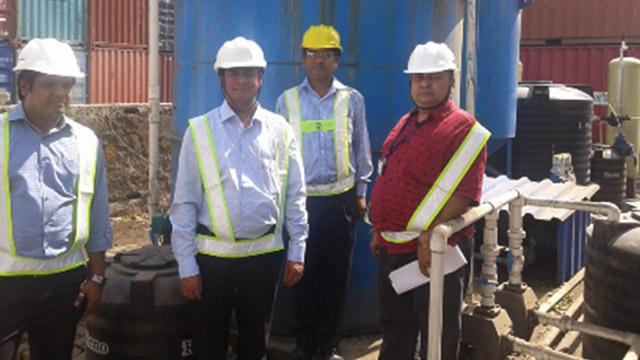 Zero Discharge Sewage Treatment Plant
