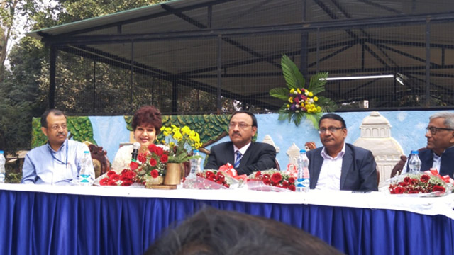 C&MD, Directors of Balmer Lawrie and representatives from Victoria Memorial  at the inauguration ceremony of the Composting Unit