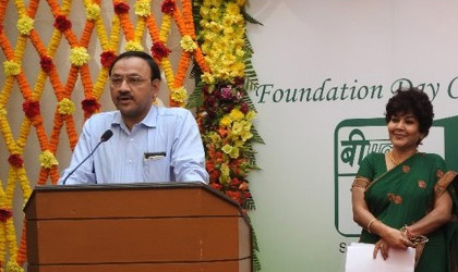C&MD addressing the employees