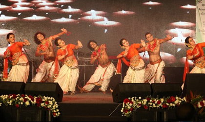 Dane performance by Mamata Sankar's troupe