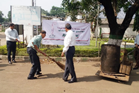 Cleanliness drives at the G&L plant in Kolkata