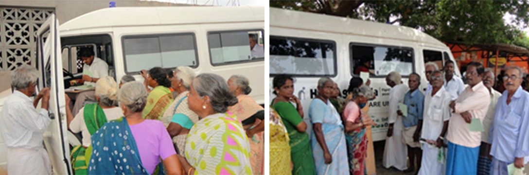 Mobile Health Van at Chennai