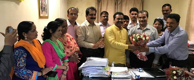 Signing of the LTS at LI, Mumbai